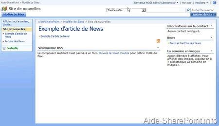 si鑒e de microsoft les modèles de site partie 4 aide et tutoriel sur microsoft sharepoint