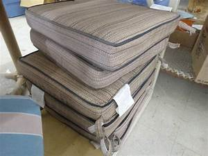 Patio chair cushions north wichita estate furniture and for Home goods patio furniture cushions