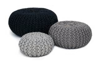 design sitzkissen recycled wool eco friendly organic ottomans poufs and stools