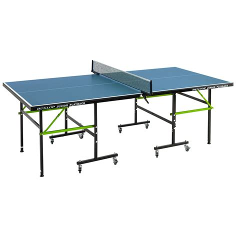 dunlop ping pong table dunlop junior playback indoor table tennis table