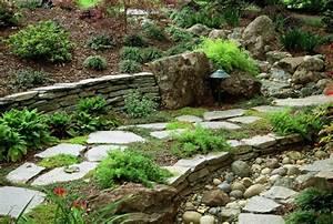 Garten Dekorieren Mit Steinen : gartensteine ideen wie sie dem garten einen sch nen ~ Lizthompson.info Haus und Dekorationen