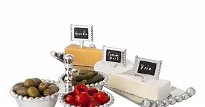Threshold Silver Beaded Cheese Marker Set ($10), Silver