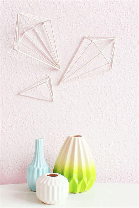 Wandobjekte Selber Machen by Diy Geometric Wall Wandobjekte Selber Machen