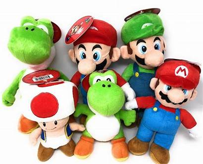 Mario Plush Toys Super Toy Luigi Tv