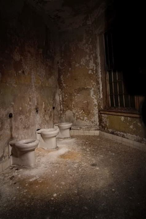 bathroom photo   abandoned worcester state hospital