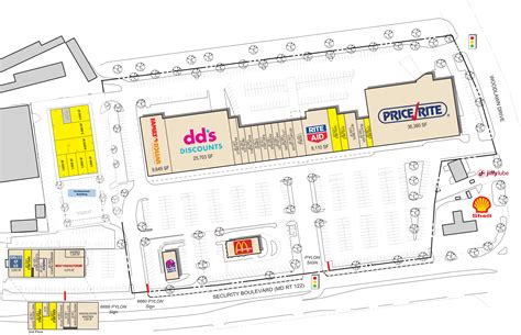 Baltimore Md Meadows Shopping Center  Retail Space For
