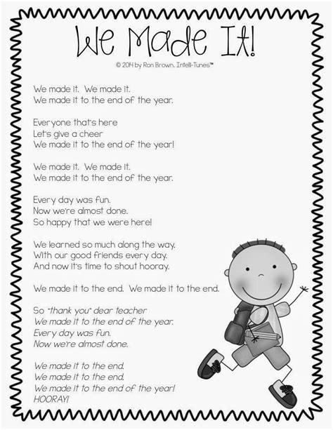 Best kindergarten speech for kinder graduation! We Made It . . . end of the year song. Use for classroom award nights …   Kindergarten ...