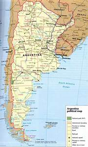 Maps of Argentina