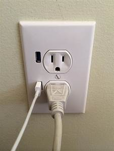 How To Install A Usb Electrical Wall Outlet