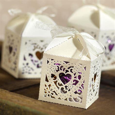 decorative wedding favor box candy cake weddings