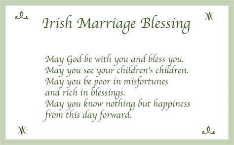 irish marriage blessing quotes pinterest patrick
