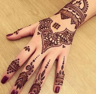 Image For Henna Art Simple Untuk Pemula Makedes Com Makeup Looks