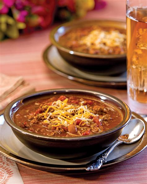 chipotle winter garden spicy chipotle chili southern magazine