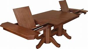 Craftsman Butterfly Dining Room Table from DutchCrafters Amish