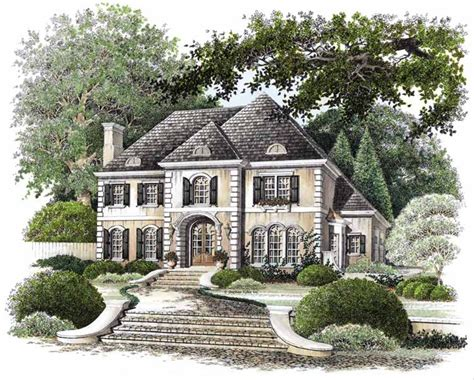 Country Style House Plan 4 Beds 3 5 Baths 2760 Sq/Ft