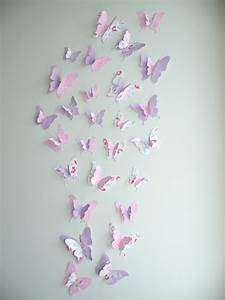 3d butterfly wall decor quotamarissaquot set felt With butterfly wall decor