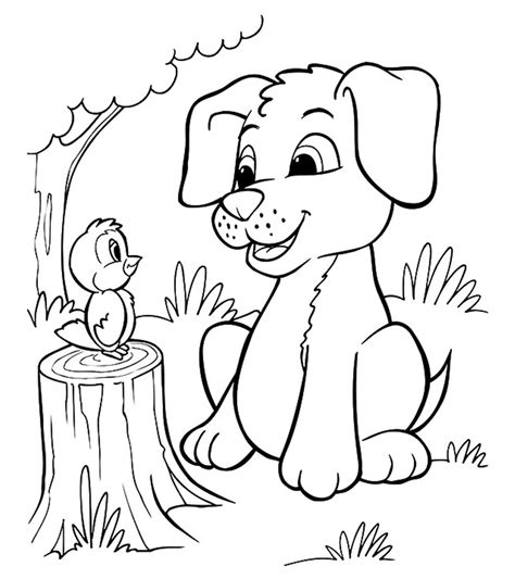 animal coloring pages momjunction