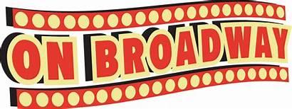 Broadway Clipart Lights Star Cartoon Sign Transparent
