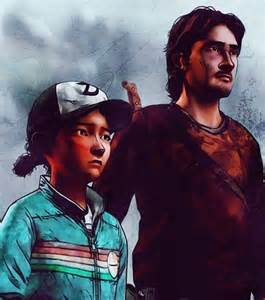 Walking Dead Game Clementine and Luke