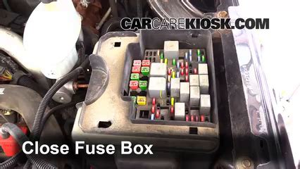 Replace Fuse Gmc Sierra