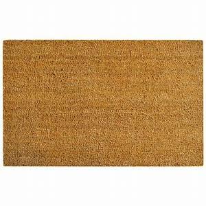 vidaxl tapis d39entree fibre de coco 17 mm 80 x 100 cm With tapis fibre coco
