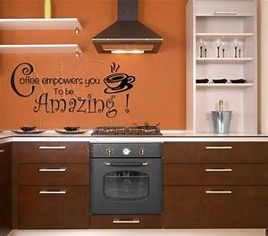 Funny kitchen quotes wall decals quotesgram for Kitchen cabinets lowes with word stickers for walls