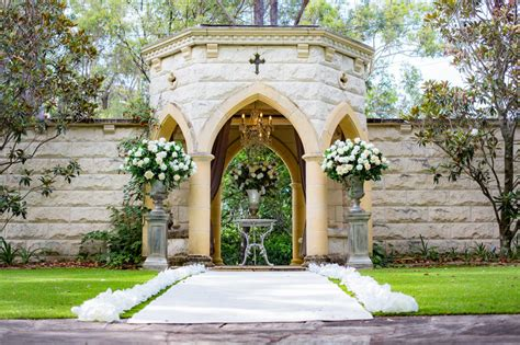 Ceremony Evergreen Garden Venue
