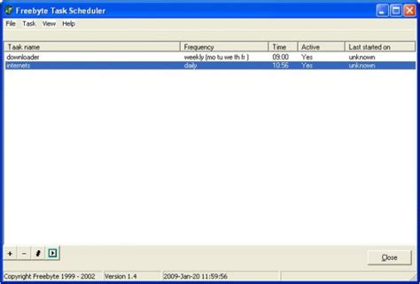freebyte task scheduler