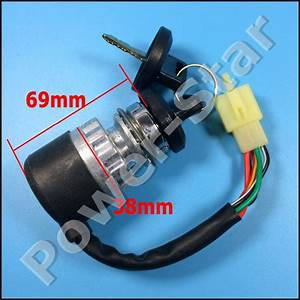 Ignition Switch Key 5 Wires For Chinese 150cc 250cc Go