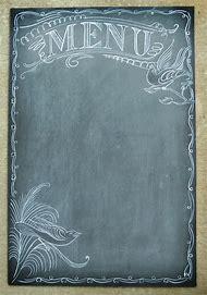 Best blank menu template ideas and images on bing find what you blank chalkboard menu template maxwellsz