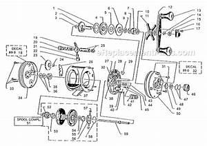 Abu Garcia 4600 C Parts List And Diagram