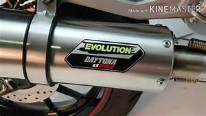 Daytona Evolution Exhaust Yamaha All New R15 Vva