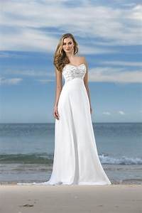 elegant beach style wedding dresses david39s bridal sang With beach style wedding dress
