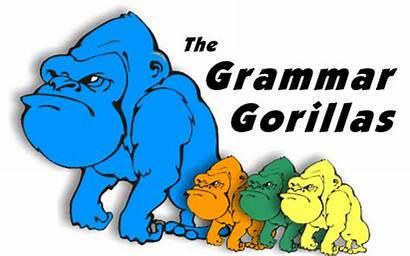 Grammar Gorillas Fun Teachers Students Brain Website