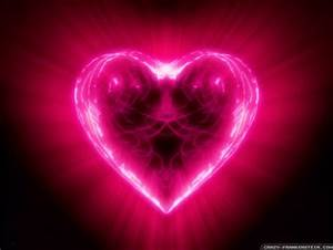 Neon Heart Other & Abstract Background Wallpapers on