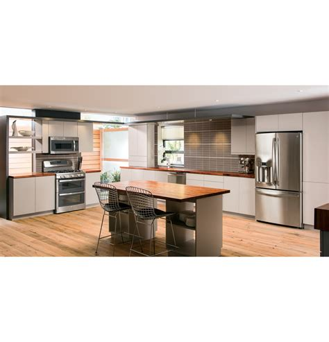 Kitchen Interior Stainless Appliance Package Double Oven