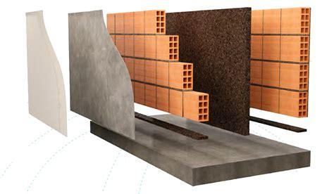 isolante interno isolamento acustico pareti divisorie con sughero corkpan