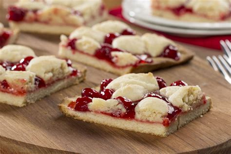 cherry kuchen bars cherry kuchen bars mrfood com