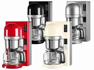 Kitchen Aid Farben : kitchenaid kaffeemaschine mit filter in empire red 5kcm0802eer thomas electronic online shop ~ Watch28wear.com Haus und Dekorationen