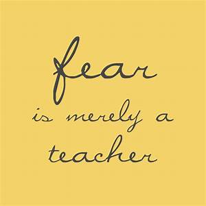 What is fear? - Living Quirky