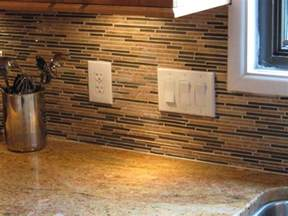 Tile Backsplash Kitchen Cheap Backsplash Ideas For Modern Kitchen