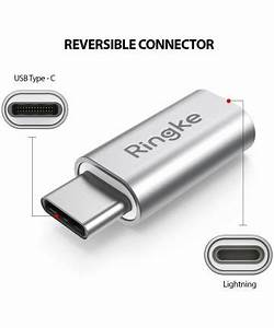 Usb C To Lightning : ringke apple lightning naar usb c adapter 2 pack ~ Melissatoandfro.com Idées de Décoration