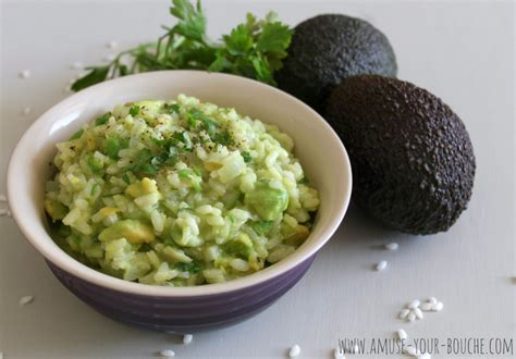 different ways to cook avocado avocado risotto amuse your bouche