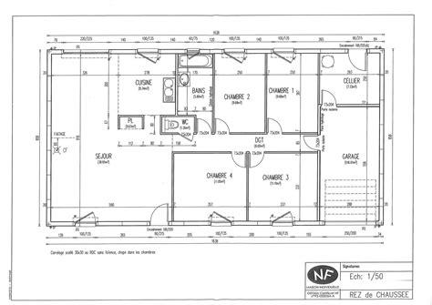 plan maison 90m2 3 chambres battement plan maison plans maison phenix plan maison