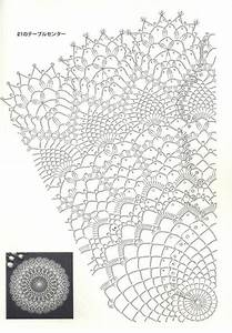 Crochet Doily Lace Free Pattern Diagram