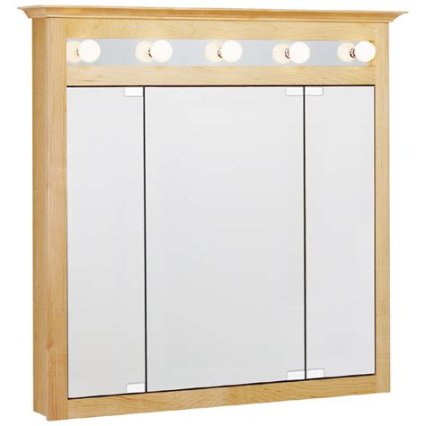 Lowes Estate Cabinets - shop estate by rsi lighted surface mount medicine cabinet