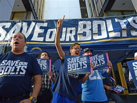 Chargers Fans Voice Displeasure With Team's Possible Move