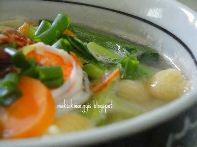 lada hqi jom masak jom makan makan macaroni sup