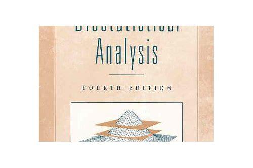 Zar biostatistical analysis 4th edition.