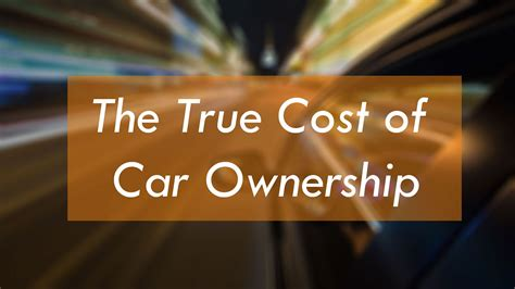 Cost Of Car by Mycarsearch Car Buying Guide The True Cost Of Car Ownership